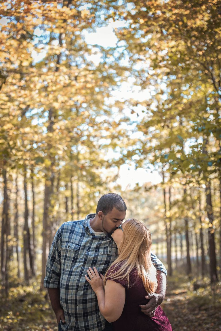Fort Wayne engagement photography, Fort Wayne, Indiana, Kasey Wallace Photography, engagement session, outdoor photography, engagement photography, bride-to-be, groom-to-be, couple's photography, bride and groom, fall engagement, fall photos, Indiana wedding photographer, Fort Wayne wedding photographer