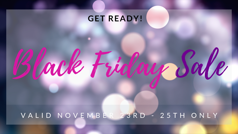 Black Friday Sales Fort Wayne Wedding and Portrait Photography