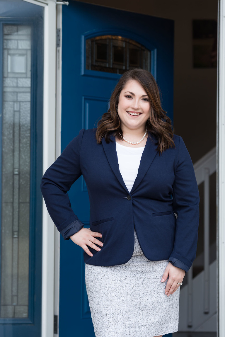 Fort Wayne Professional Headshots, Documentary Photography, Kasey Wallace Photography, Rachel Lott, Republican Candidate