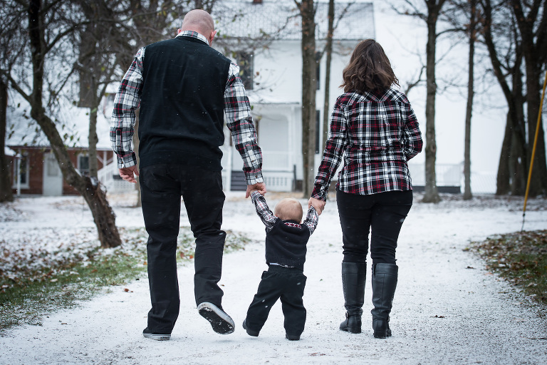 Fort Wayne family photography by Kasey Wallace Photography